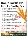 Donjo Farms Certified Seed For Sale