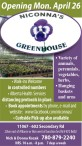 Niconna's Green House