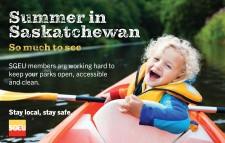 Summer in Saskatchewan
