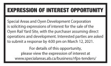 EXPRESSION OF INTEREST OPPORTUNITY